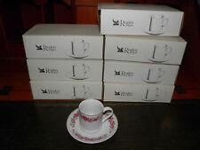 La Cina tazza e piattino Worm rose-boxed & Nuovo