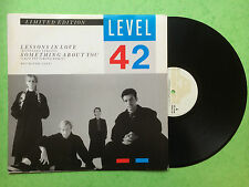 Level 42 - Lessons In Love  Limited Edition, Polydor POSPA790 Ex Condition A1/B1