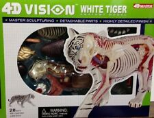 4D Vision  White Tiger  Anatomy Model Kit - Puzzle 26091