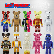 Bearbrick Be@rbrick 30 10P Set 10pcs Artist Nyaromeron Ao Oni Gacky Ted2 SF Cute