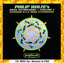 CD ROM for Roland S-760 (Philip Wolfe's Rock Keyboards)