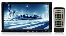 New! 7'' Double DIN TFT Touch Screen DVD/VCD/CD/MP3/MP4/CD-R/USB/SD-MMC Receiver