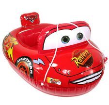 Baby Kids Toddler Lightning McQueen Swim Pool Boat Ring Raft Float Tube Seat Aid