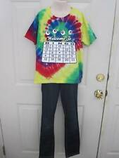 Bingo Tye Die Custom Dance Hip Hop Competition Costume Medium Child 10 Slim MC