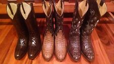 Exotic Cowboy Boots Hand Made 8D Contact Seller Which Pair To Send 2New/1Us