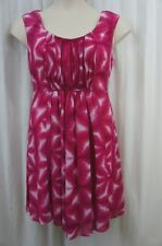 Calvin Klein Dress Sz 12 Pink Dazzle Multi Sleeveless Business Dinner Casual Dre