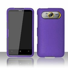 Hard Rubberized Case for HTC HD7 - Purple