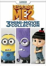 Despicable Me 2: 3 Mini-Movie Collection (DVD, 2015)