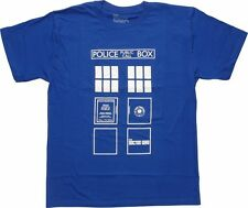 Kids Toddler BBC Doctor Who TARDIS POLICE BOX T-Shirt NWT Licensed & Official
