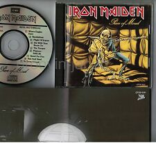 IRON MAIDEN Piece Of Mind JAPAN CD CP28-1041 w/GREENLINE 2800 issue 1988 Free SH