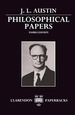 Philosophical Papers by J. L. Austin (1990, Paperback, Revised)