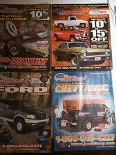 J.C.Whitney vintage auto parts literature lot.