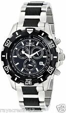 Invicta Men's 6407 Python  Chronograph Stainless Steel and Gun Metal Watch
