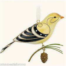 Hallmark 2008 Goldfinch Beauty of the Birds Ornament