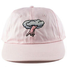 Agora Chosen 6 Panel Dad Hat polo Cap strapback 5 pastel pink NEW