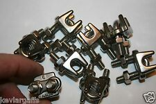 Cable Clamps 3/16 inch or number 5 metric Stainless Steel package of 8
