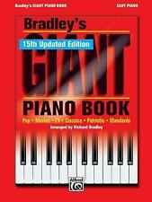Bradley's Giant Piano Book Easy Piano Book15th updated edition