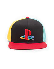 OFFICIAL SONY'S PLAYSTATION ORIGINAL SYMBOL/ LOGO BLACK SNAPBACK CAP (BRAND NEW)