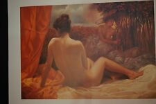 """Lithograph art """"Musical Forest"""" by Bruno Di Maio singed and numbered"""
