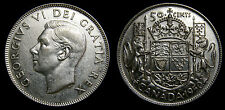 1950 Canada 50 Fifty Cents King George VI No Design in O Scarce EF-45