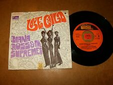 DIANA ROSS & THE SUPREMES - LOVE CHILD - 45 PS HOLLAND  / LISTEN - SOUL MOTOWN
