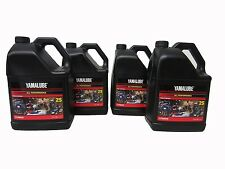 Yamalube 2S 2-S 2-Stroke Engine Oil OEM Yamaha 4 Gallons ATV Motorcycle Scooter