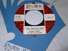 Harry Deal & The Galaxies: I Feel Good All Over / Night People 45 - Laurie