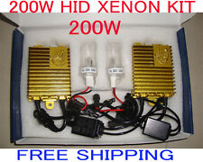 200W HID Xenon Kit Car Lamp Lights Bulb 6000K 8000K H3 H7 H9 H11 H13 H1 H4 9005