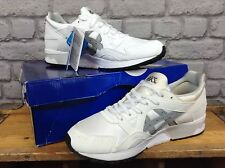 ASICS MENS UK 9 EU 43 WHITE GEL LYTE V TRAINERS RRP £94.99