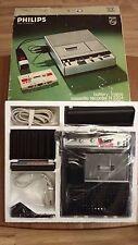 Phillips N 2204 cassetta registratore Retrò Vintage Nuovo in Scatola