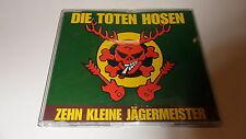 CD  Zehn Kleine Jägermeister/ von Die Toten Hosen - Single