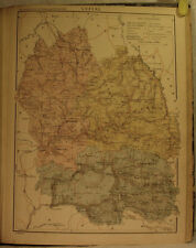JOANNE Paul, Dictionnaire géographique de la France. ATLAS 91 CARTES
