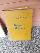 Skandal im Rataplan, ein Roman von Peter Sachse, aus dem Kranich Verlag