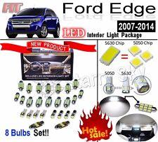 8 Bulbs 5630 LED Interior Light Kit White Reading Lamps For Ford Edge 2007-2014