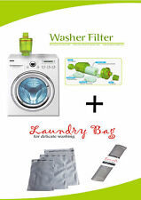 Washing Machine Water Filter, FREE Laundry Mesh Washing Bag