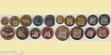 BURYATIA Republic 2014 set of 9 coins Buriatia