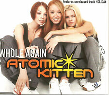 ATOMIC KITTEN Whole Again RARE MIX & UNRELEASED TRK CD single SEALED USA Seller