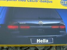 VW Golf 4 Mk4 IV GTI R32 HELLA Trunk Panel Celis Light f. Smoked/Red Tail Lights