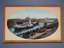 R&L Postcard: London Boat Arriving in Great Yarmouth