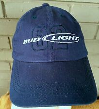 Budweiser Bud Light 82 Anheuser Busch Adjustable Baseball Cap Hat