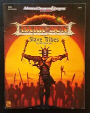 AD&D 2nd Edition Dark Sun DSR1 SLAVE TRIBES TSR 2404 Dungeons and Dragons EXC+!