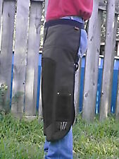 HORSESHOEING CHAPS/FARRIER SHOEING APRON/W/MAG/BRWNBRN