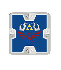 Zelda Game Hyrule Shield Triforce Link Wood Coaster For Mugs/Cups Gamer Geeky