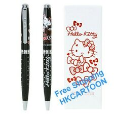 NEW SANRIO HELLO KITTY BALLPEN WITH SWAROVSKI CRYSTAL & GIFT BOX 5305-4
