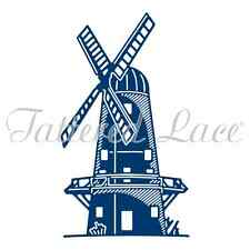 Tattered Lace Cutting Die - Windmill - ETL438 - New Out
