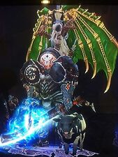 DIABLO 3 MODDED 2.4.3 BARBARIAN SET GRIFT 150 NEVER DIE XBOX ONE + WING AND PET