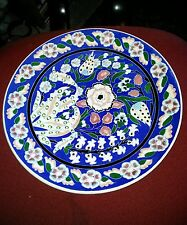 Ceramic Decorative Plate Hande Made from Turkey.