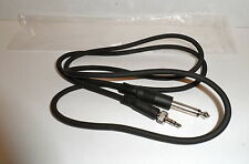 "SENNHEISER WIRELESS GUITAR INSTRUMENT CABLE CORD 1/8"" to 1/4"" EW100 SK100 CI1-N"