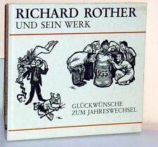 KITZINGEN - Richard Rother und sein Werk: Glückwünsche zum Jahreswechsel