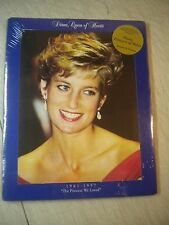 NEW LIMITED EDITION MEMORIAL DIANA PRINCESS OF WALES PORTRAIT 1961-1997 BOARDED